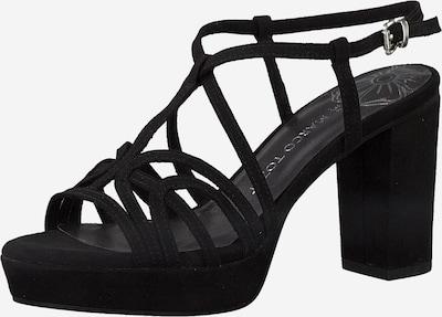 MARCO TOZZI Sandaler med rem i sort, Produktvisning