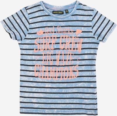 Tricou LEMON BERET pe albastru cer, Vizualizare produs