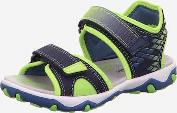 SUPERFIT Sandale 'Mike' in Blau