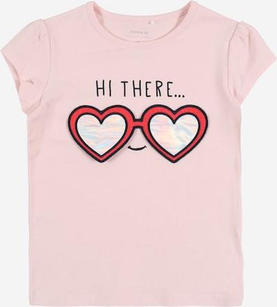 NAME IT Tričko 'FHAPINA' - ružová / purpurová / biela, Produkt