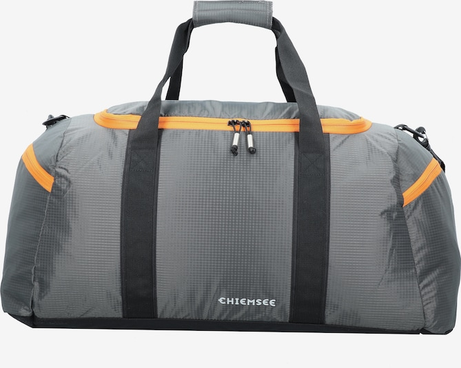 CHIEMSEE Sporttasche 'Matchbag Large' in grau / orange, Produktansicht