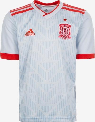 ADIDAS PERFORMANCE Functioneel shirt 'FEF Spanien Away WM 2018' in de kleur Opaal / Lichtrood: Vooraanzicht