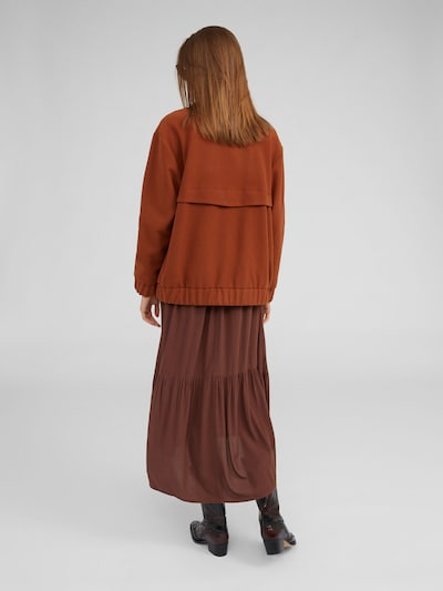 Demisezoninė striukė 'Nalan' iš EDITED , spalva - ruda: Vaizdas iš galinės pusės