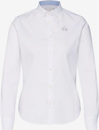Bluză 'SHIRT L/S OXFORD 50/1 30/2 STR' La Martina pe alb, Vizualizare produs