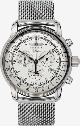 Zeppelin Uhr '100 Jahre Zeppelin' in silber / weiß, Produktansicht