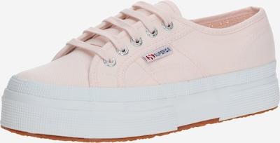 SUPERGA Baskets basses '2736-Cotu Dbl3' en rose / blanc, Vue avec produit