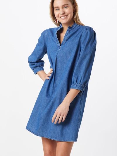 VILA Sukienka 'VITYKA 3/4 SHORT DRESS' w kolorze niebieskim, Podgląd na modelu(-ce)