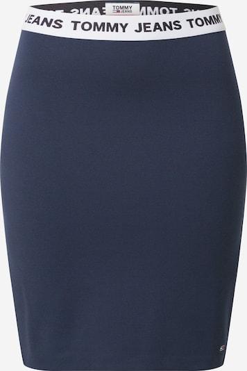 Tommy Jeans Sukně - námořnická modř / bílá, Produkt
