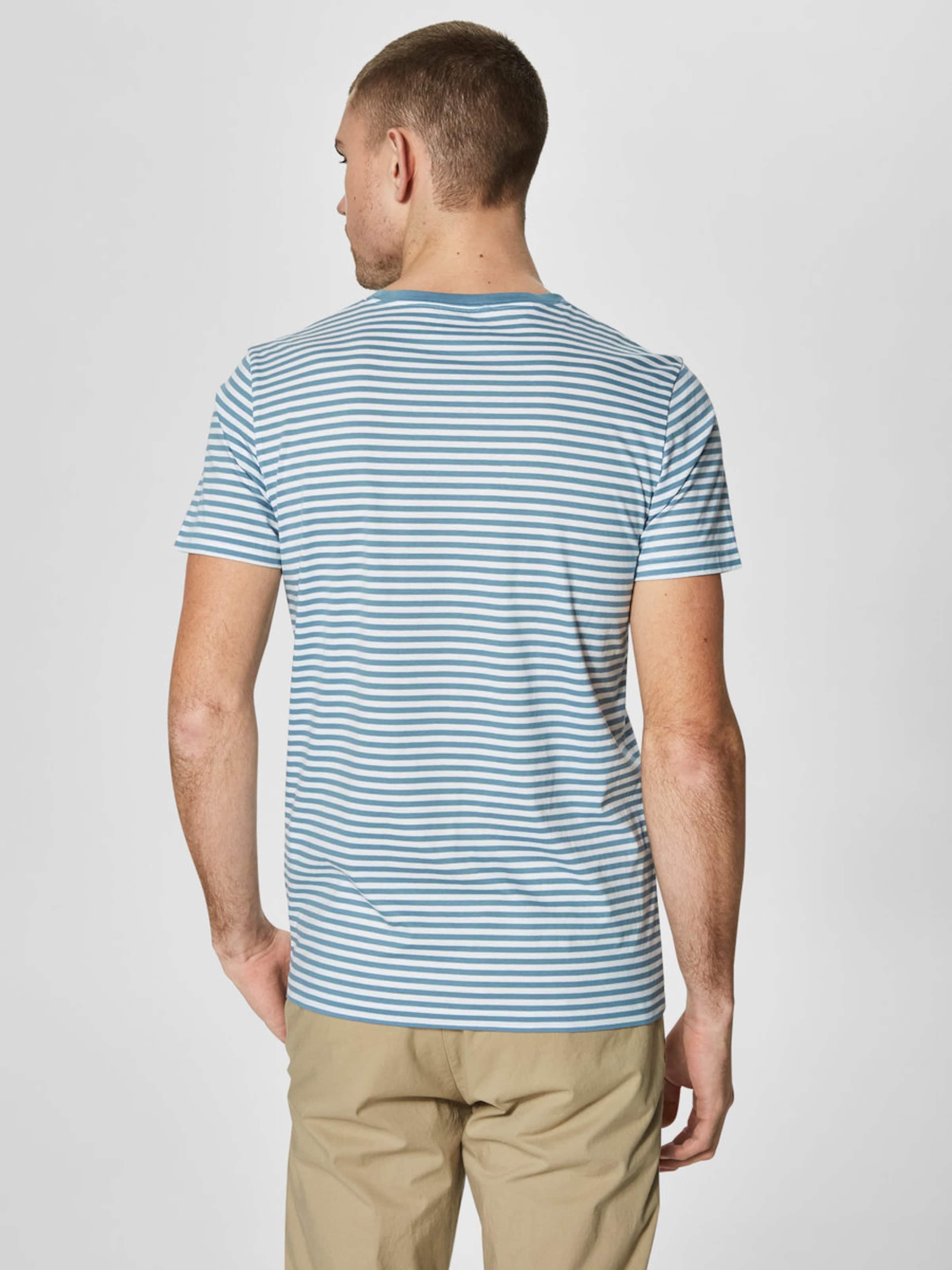 SELECTED HOMME Gestreiftes T-Shirt Günstig Kaufen Großen Verkauf Begrenzt Ja Wirklich PioqfGrxF