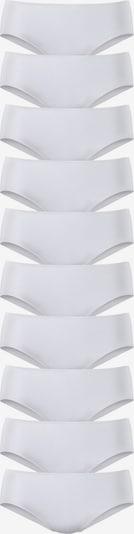 GO IN Packung: Hüftslip (10 Stück) in weiß, Produktansicht