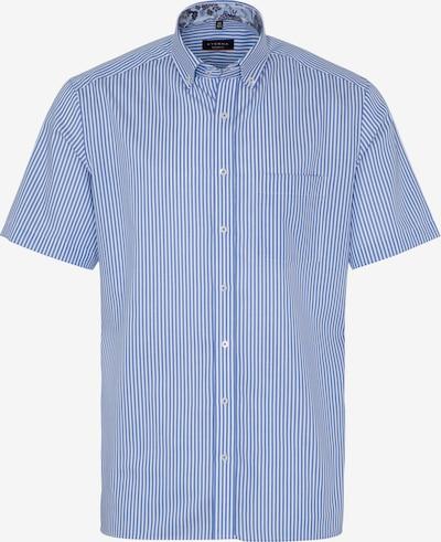 ETERNA Kurzarm Hemd MODERN FIT in blau / weiß, Produktansicht