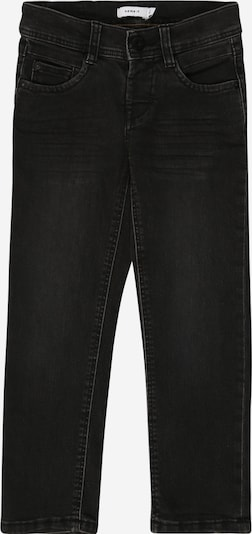 NAME IT Jeans 'RYAN' in black denim, Produktansicht