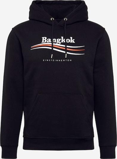 EINSTEIN & NEWTON Hoodie 'Bangkok Nico Tin' in schwarz / weiß, Produktansicht