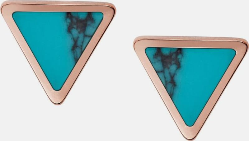 Fossil Couple Earrings Triangle, Fashion, Jf02638791