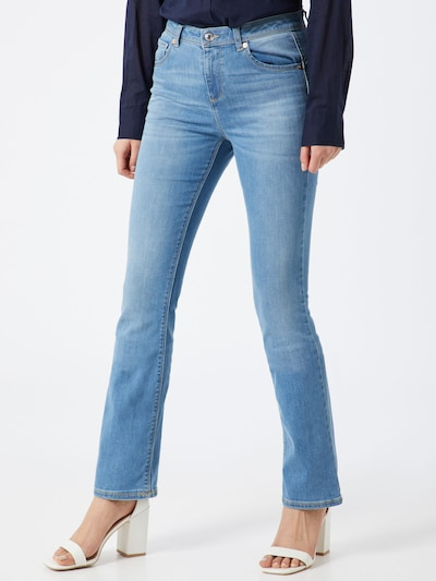 UNITED COLORS OF BENETTON Jeans in blau, Modelansicht