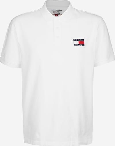 Tommy Jeans Poloshirt 'BADGE' in weiß, Produktansicht