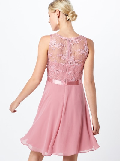 VM Vera Mont Robe de cocktail en rose: Vue de dos
