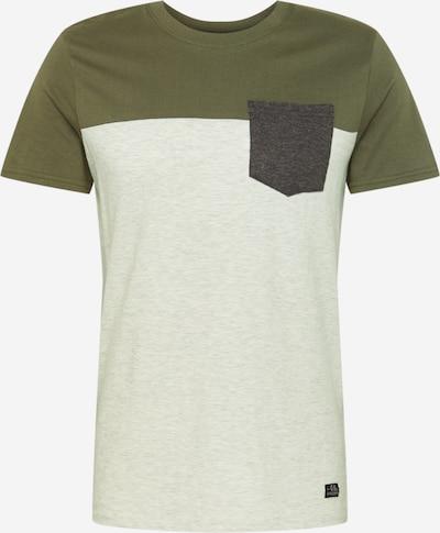 Hailys Men Majica 'Kyle' u grafit siva / kaki / bijela, Pregled proizvoda