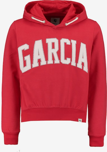 GARCIA Sweatshirt in rot / weiß, Produktansicht