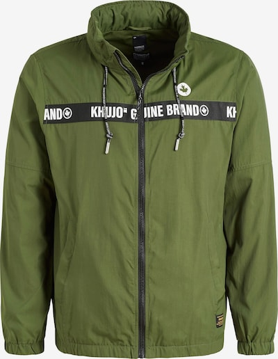 khujo Tussenjas ' CAJUN ' in de kleur Groen, Productweergave