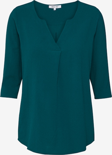 ABOUT YOU Blouse 'Emmi' in de kleur Petrol, Productweergave