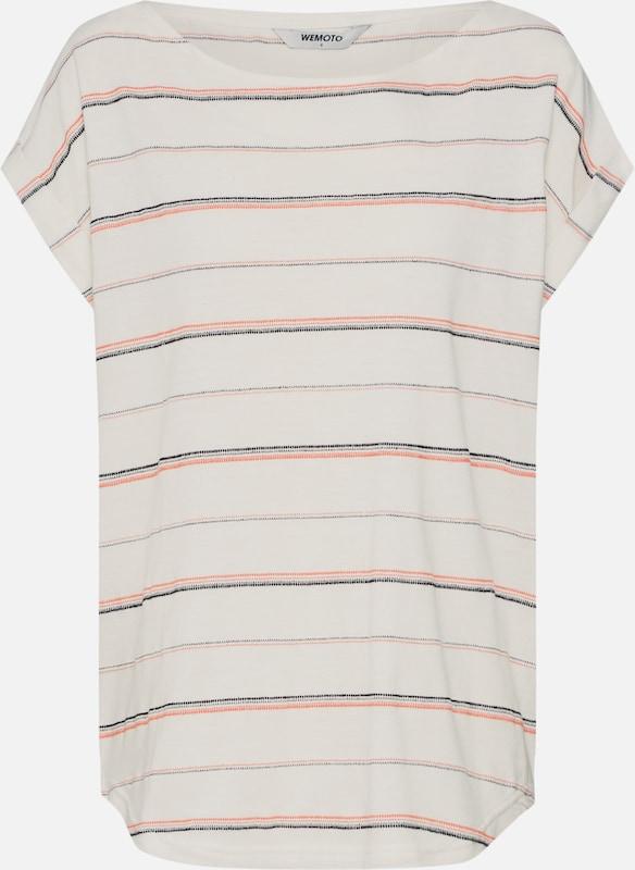 Blanc Wemoto 'andy' shirt T En OrangeNoir xeCroWEdBQ