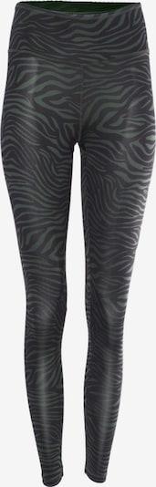 Kismet Yogastyle Leggings 'Ganga' in jade / schwarz, Produktansicht