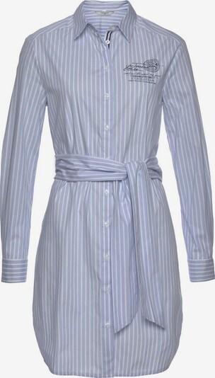 Tom Tailor Polo Team Hemdblusenkleid in hellblau / weiß, Produktansicht