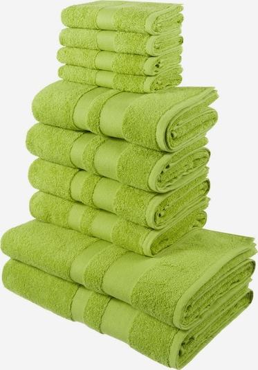 MY HOME Handtuch in limette, Produktansicht