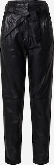 Ibana Hlače z naborki 'PAULA' | črna barva, Prikaz izdelka
