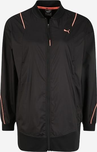 Geacă sport 'Pearl Woven' PUMA pe portocaliu / negru, Vizualizare produs
