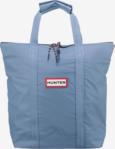 HUNTER Two Way Tote Shopper in hellblau, Produktansicht