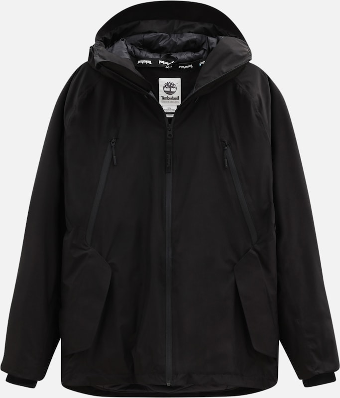 TIMBERLAND Winterjacke 'Ultimate winter' in schwarz: Frontalansicht
