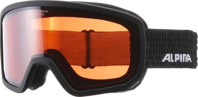 Alpina Skibrille 'Scarabeo QH' in schwarz, Produktansicht