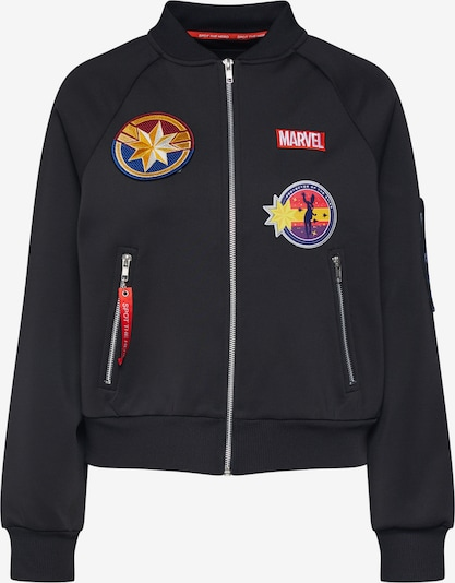 ABOUT YOU x MARVEL Bomberjacke 'Lucia' in schwarz, Produktansicht