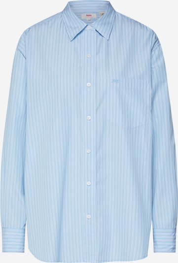 LEVI'S Bluse 'THE DAD SHIRT W/ POCKET' in blau / weiß, Produktansicht