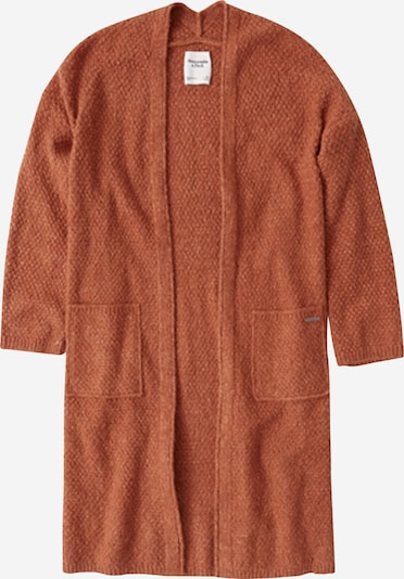 narancs Abercrombie & Fitch Oversize dzseki 'KIMONO CARDIGAN', Termék nézet