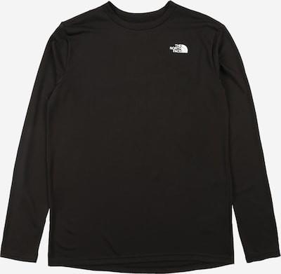 THE NORTH FACE Shirt 'Reaxion' in schwarz / weiß, Produktansicht