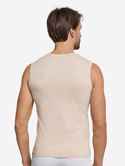 SCHIESSER Tank Top in beige: Rückansicht