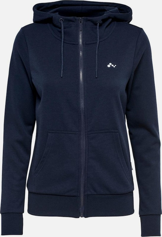 ONLY PLAY Sweatjacke 'ONPELINA' in navy, Produktansicht