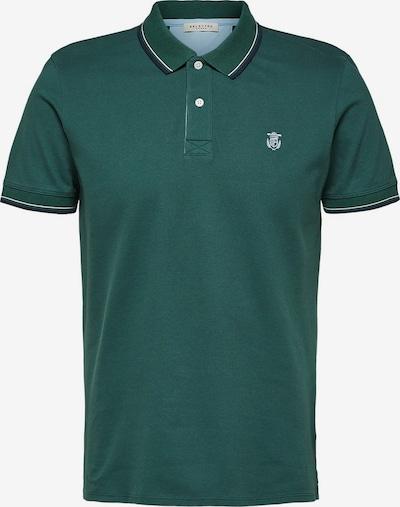 SELECTED HOMME Poloshirt in smaragd, Produktansicht