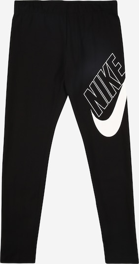 Nike Sportswear Leggings 'FAVORITES' in schwarz / weiß, Produktansicht