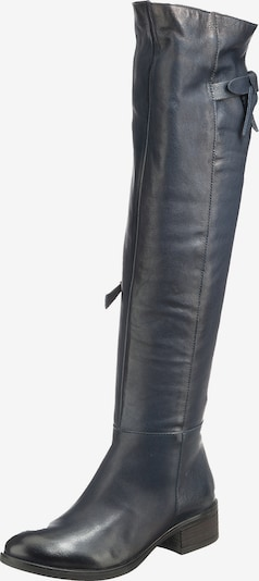 JOLANA & FENENA Over the Knee Boots in Black, Item view