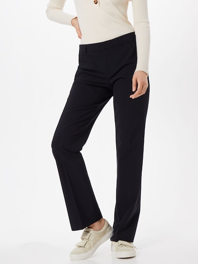 Kelnės su kantu 'LOGAN WASHABLE' iš Banana Republic , spalva - juoda: Vaizdas iš priekio