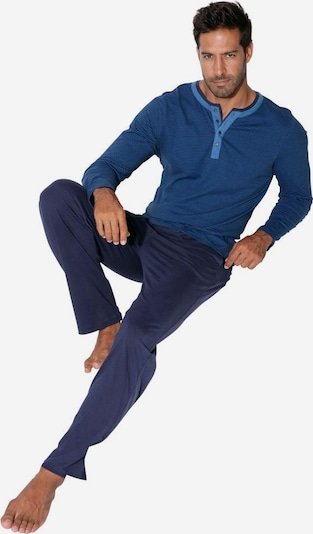 ARIZONA Pyjama in navy, Produktansicht