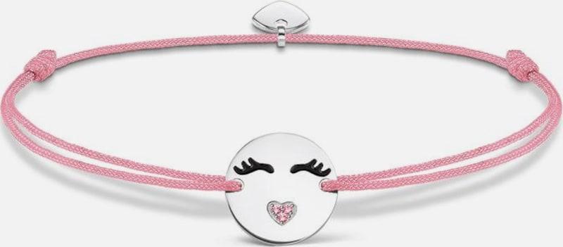 Thomas Sabo Armband 'Little Secret 'Emoticon mit Herzmund', LS041-380-9-L20v'
