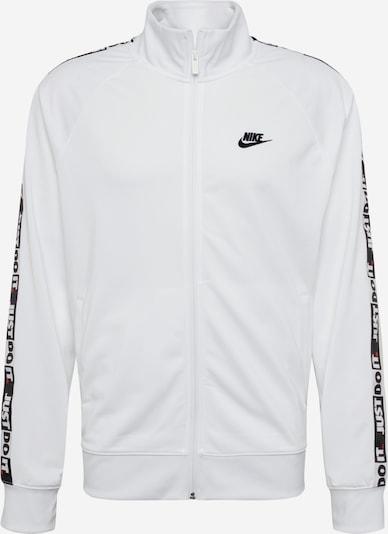 Nike Sportswear Kevad-sügisjope 'JDI JKT PK TAPE' must / valge, Tootevaade
