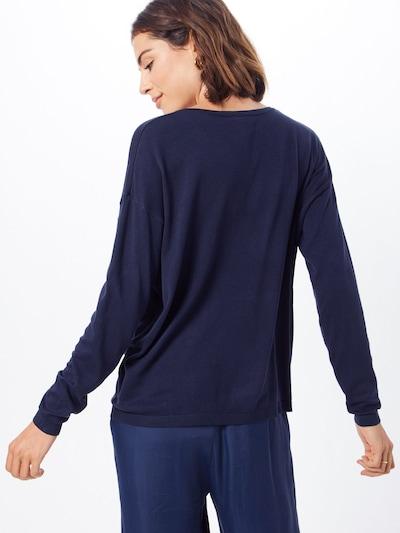 ICHI Džemperis 'MAFA V LS2' pieejami zils: Aizmugures skats