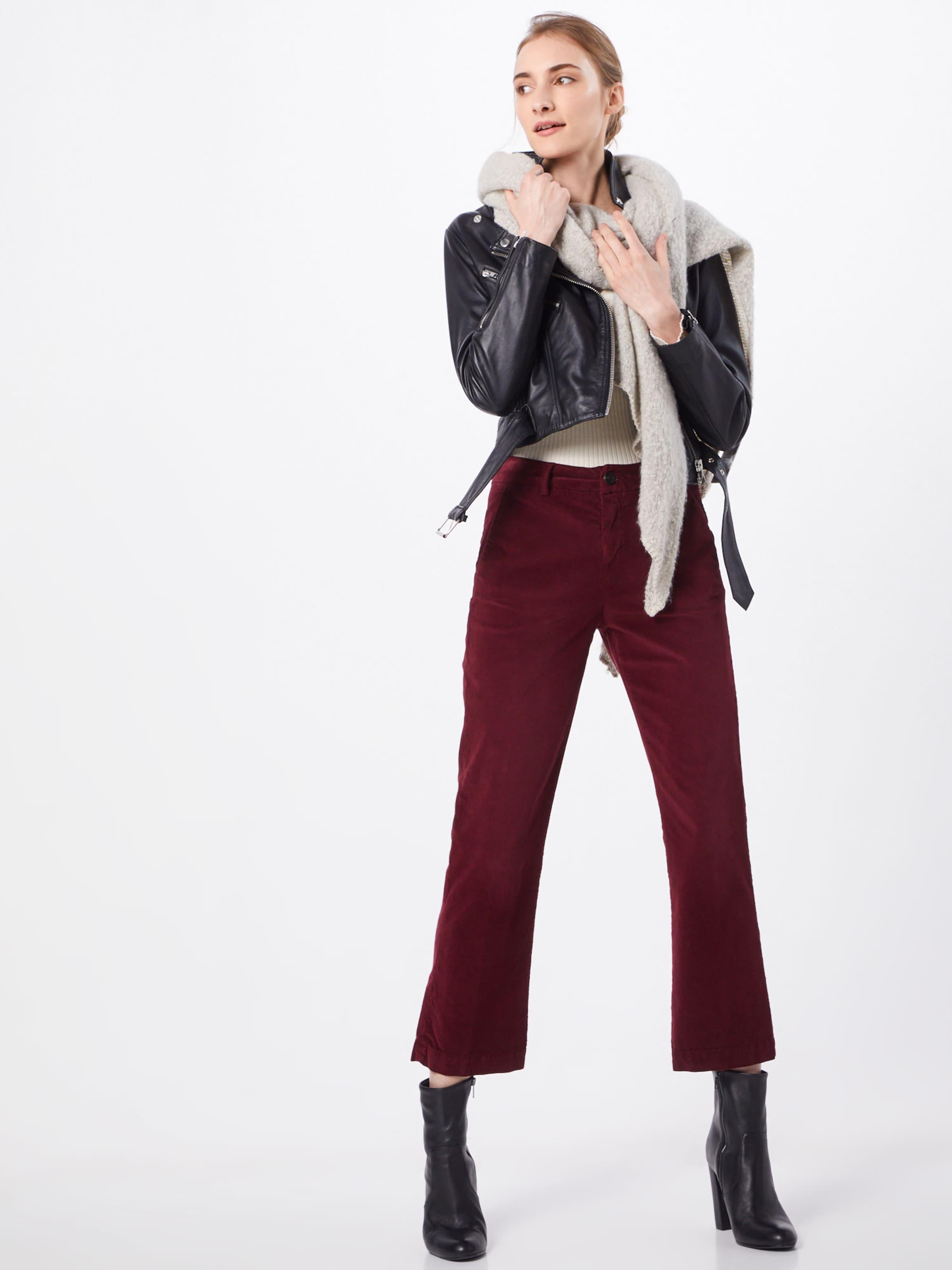 'minx Velvet En Herrlicher Stretch' Pantalon Rouge kPZuiXOT