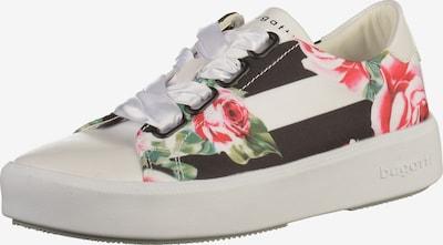bugatti Sneaker in grün / rot / schwarz / weiß, Produktansicht